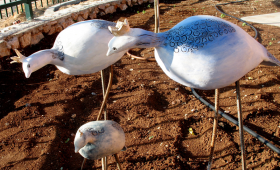 קרמיקה: ציפורים, ינשופים, תרנגולים